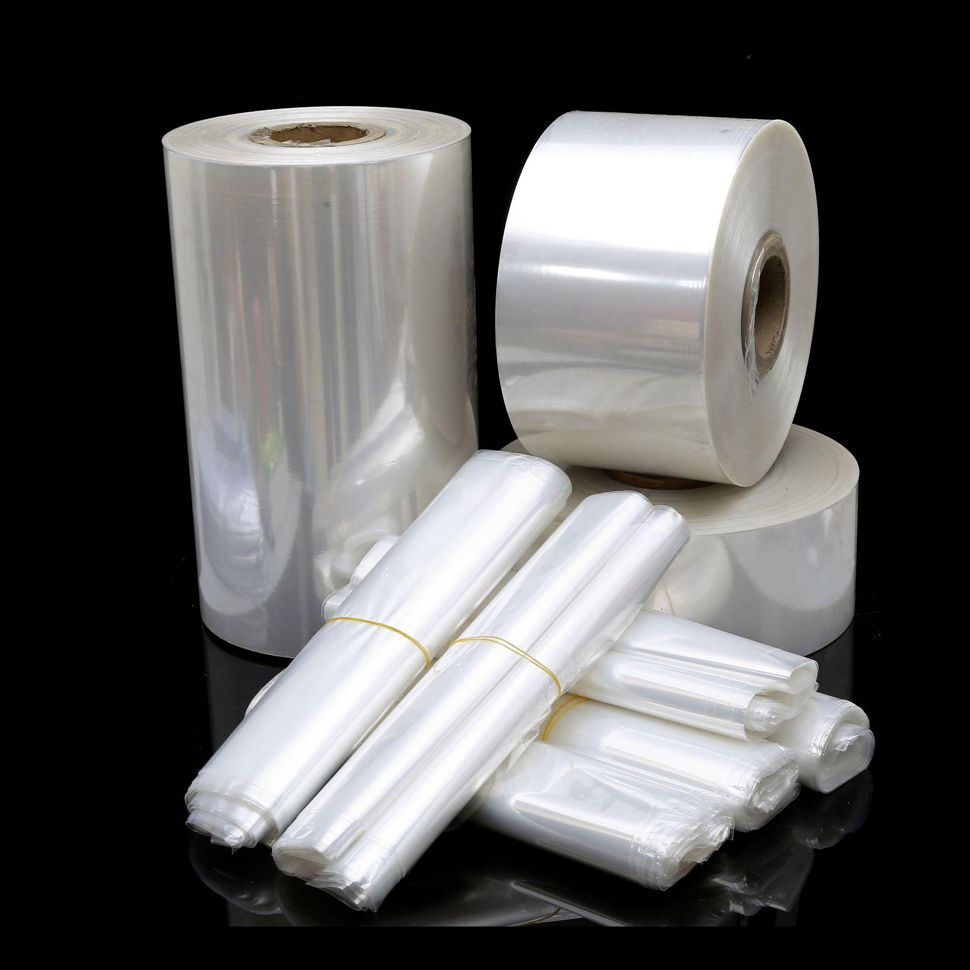 厂家直销 POF通用透明塑料热收缩膜环保无毒 拉伸性强包装膜 定制