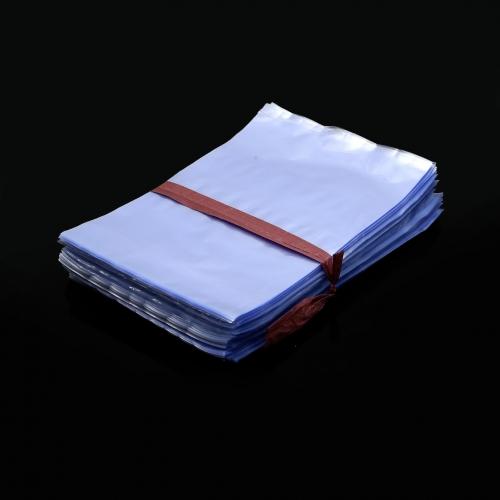 和驰PVC两头通热缩带 POF环保无毒热缩膜 彩色日用品热切袋定制