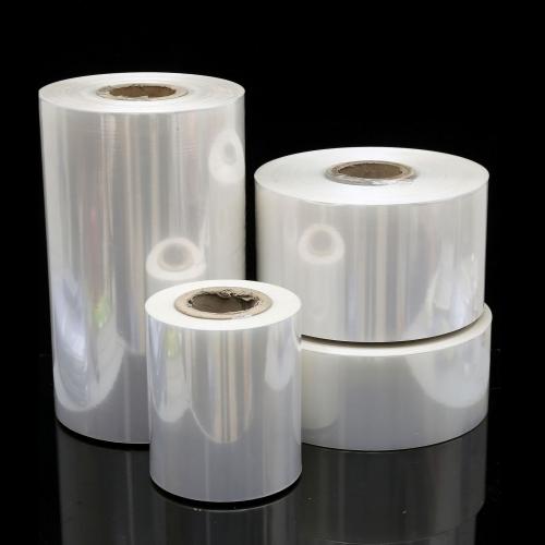 工厂直销日用品包装袋 环保白色透明POF热收缩膜薄膜卷筒对折膜