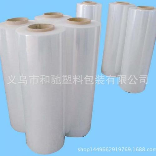 义乌厂家批量供应PE缠绕膜 黏性膜 保护膜 有现货